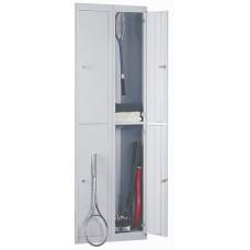 Шкаф металлический для одежды Gross 3418